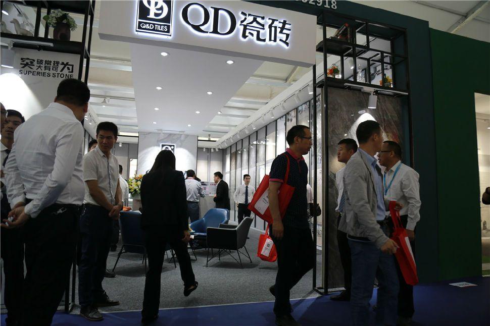 """亮相32届陶博会,QD瓷砖展现""""全新升级之年""""成果"""
