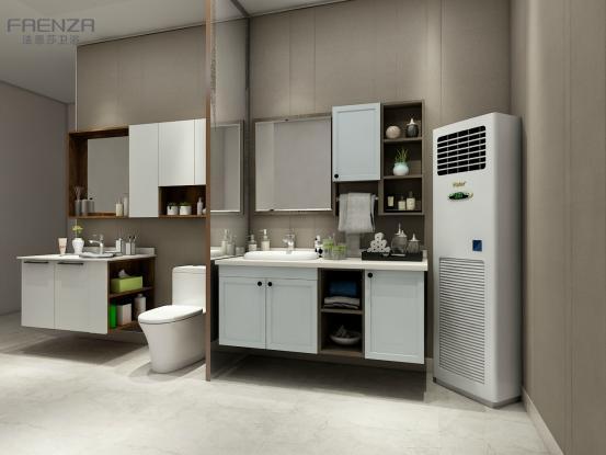 一个有品质的浴室间,应该是干湿分离的装上一个有质感的淋浴房是最好的安全保护