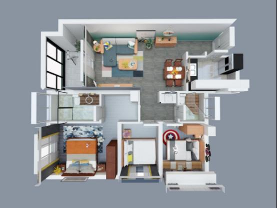 110m²联邦家私北欧新家,挡不住的流行趋势