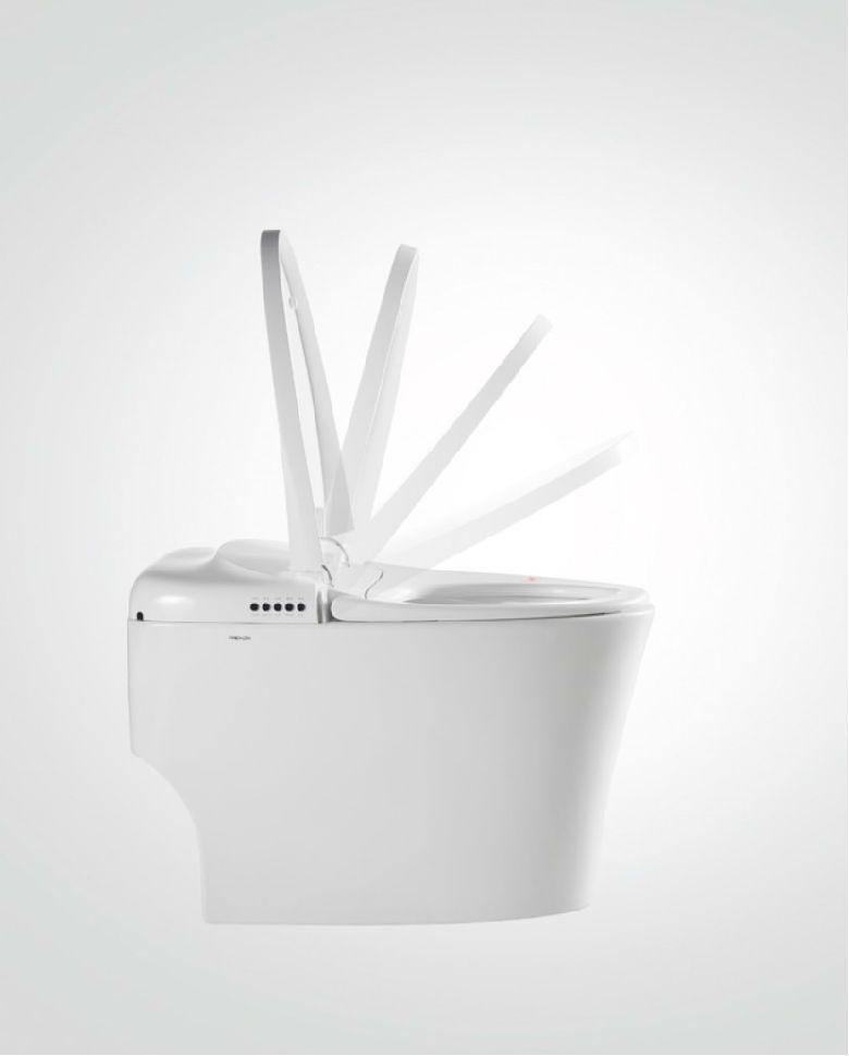 法恩莎卫浴 设计为爱而生 德国IF设计奖 帕斯卡智能坐便器