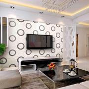 石膏线电视墙