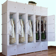 树脂塑料衣柜