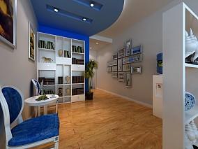 精选面积92平地中海三居客厅装修设计效果图片大全