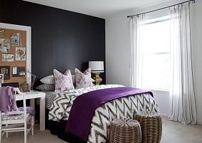 热门93平米三居卧室混搭装修欣赏图片大全