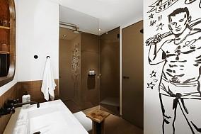 15万打造唯美的现代简欧装修风格卫生间装修效果图