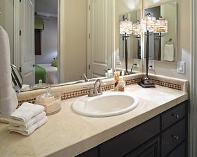 精选面积76平混搭二居卫生间装修欣赏图