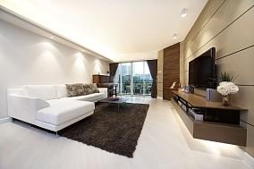 面积70平混搭二居客厅装修欣赏图片
