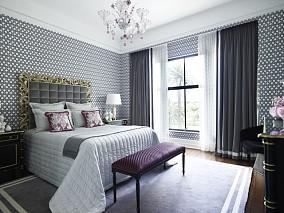 热门面积71平小户型卧室混搭装修欣赏图