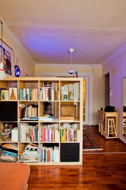 热门面积114平复式书房混搭装修图家装装修案例效果图