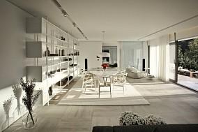 2018精选面积144平复式客厅混搭装修效果图片欣赏
