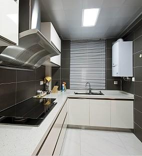 现代简约厨房烤漆橱柜效果图欣赏