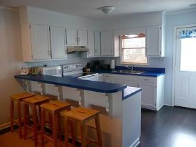 热门面积75平小户型厨房混搭装修设计效果图片欣赏