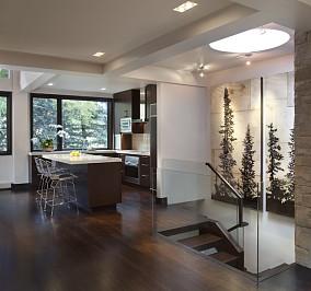 34万打造温馨舒适现代风格餐厅装修效果图大全2014图片