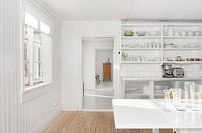 14万打造清新简约欧式厨房橱柜装修效果图大全2012图片
