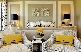 精选面积126平复式客厅混搭装修欣赏图