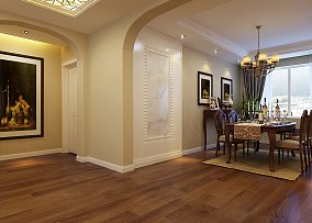 78.2平精美客厅混搭装修设计效果图片大全
