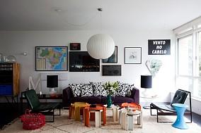 65平米简约小户型客厅装修效果图大全2014图片