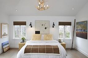 两房一厅简约清新的卧室装修效果图大全2014图片