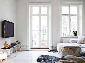 90平米混搭小户型客厅装修设计效果图片欣赏