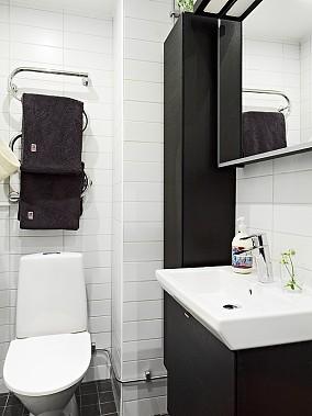 热门小户型卫生间混搭装修欣赏图