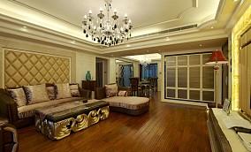精美大小123平现代四居客厅装修实景图片欣赏