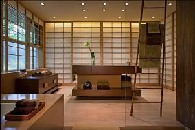 日式简约风格客厅装修效果图大全2014图片