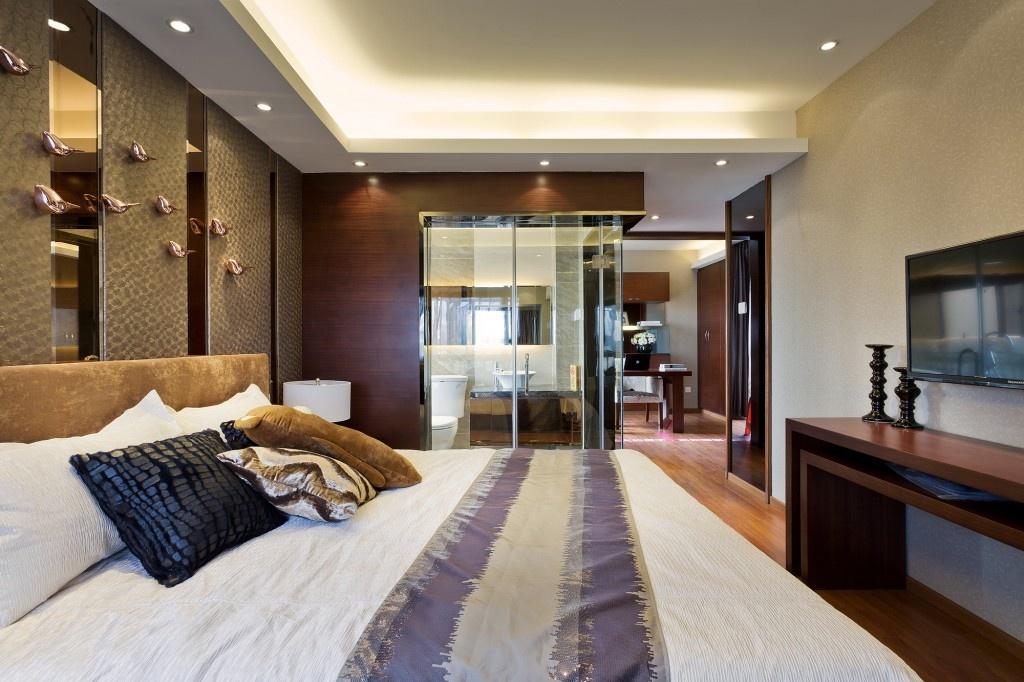 家装卧室带卫生间装修效果图功能区1图其他功能区设计图片赏析
