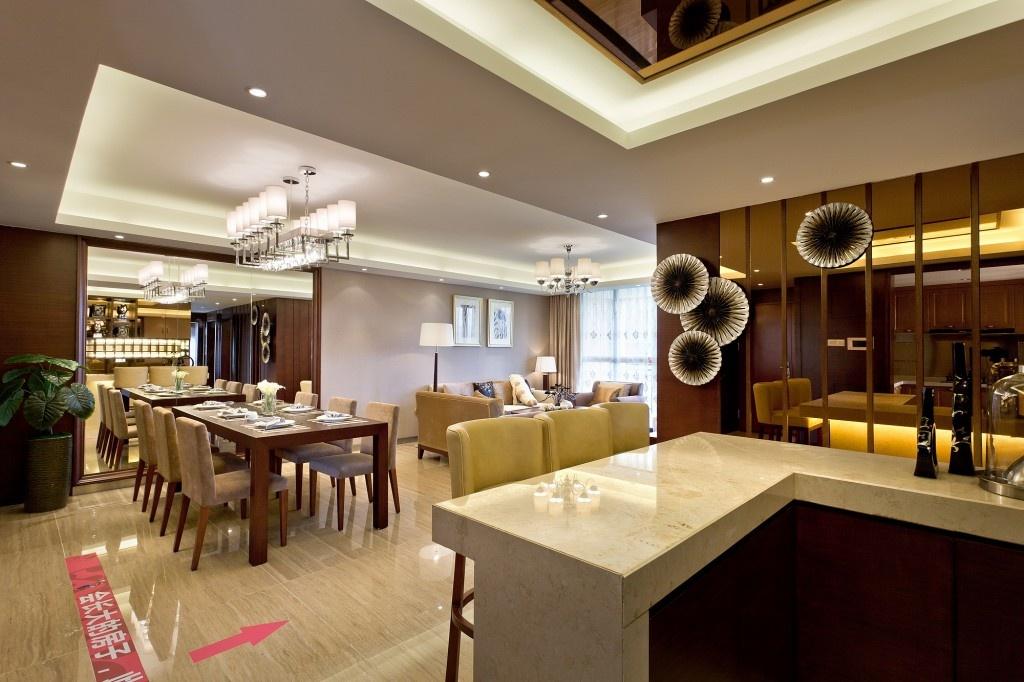 家装餐厅吧台装修效果图功能区2图其他功能区设计图片赏析