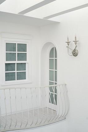 精美面积142平复式阳台地中海装修实景图