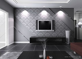 精选72平米混搭小户型客厅装修图