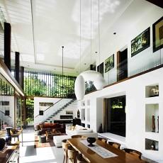 新加坡阳光小筑 超惬意的理想家居别墅客厅