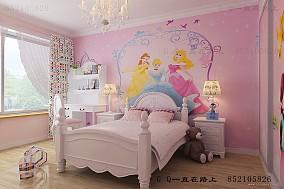 现代卧室软床垫图