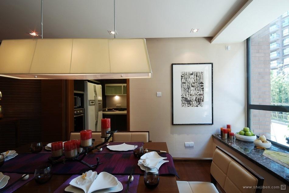 混搭餐厅与厨房隔断装修效果图片功能区1图其他功能区设计图片赏析
