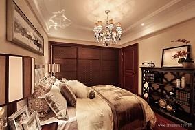 小卧室吊灯家装装修案例效果图