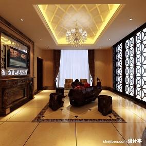 现代客厅板式茶几效果图