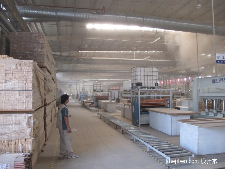 东易日盛木材加工厂商业展示其他设计图片赏析