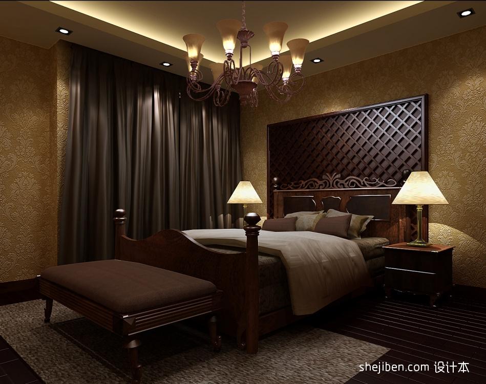 精美393平混搭别墅卧室设计图卧室潮流混搭卧室设计图片赏析