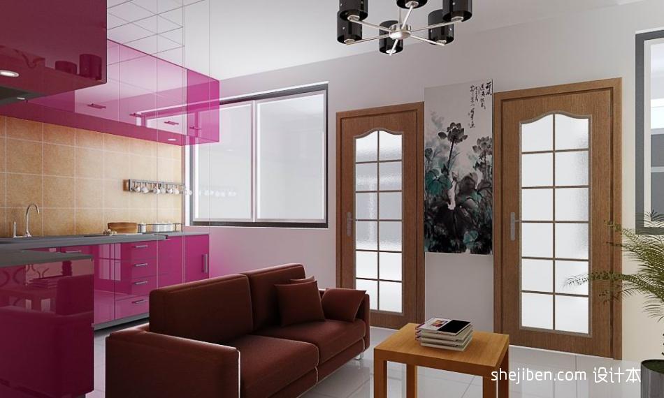 热门面积82平小户型客厅混搭装修实景图客厅潮流混搭客厅设计图片赏析