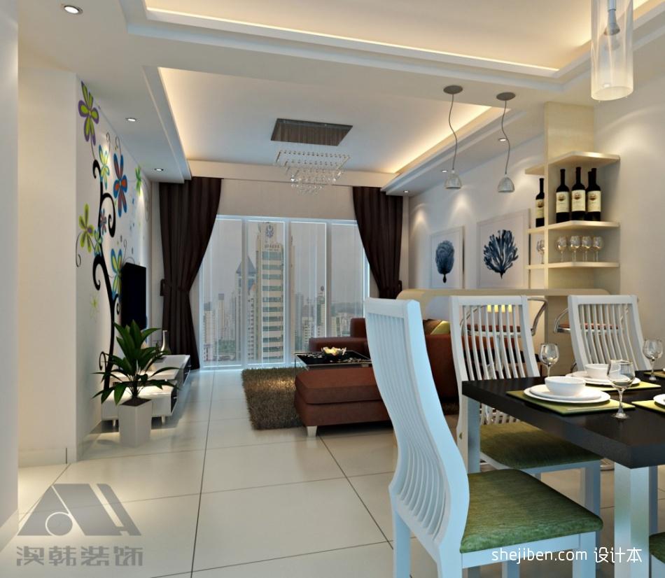 平米三居餐厅混搭欣赏图片潮流混搭设计图片赏析