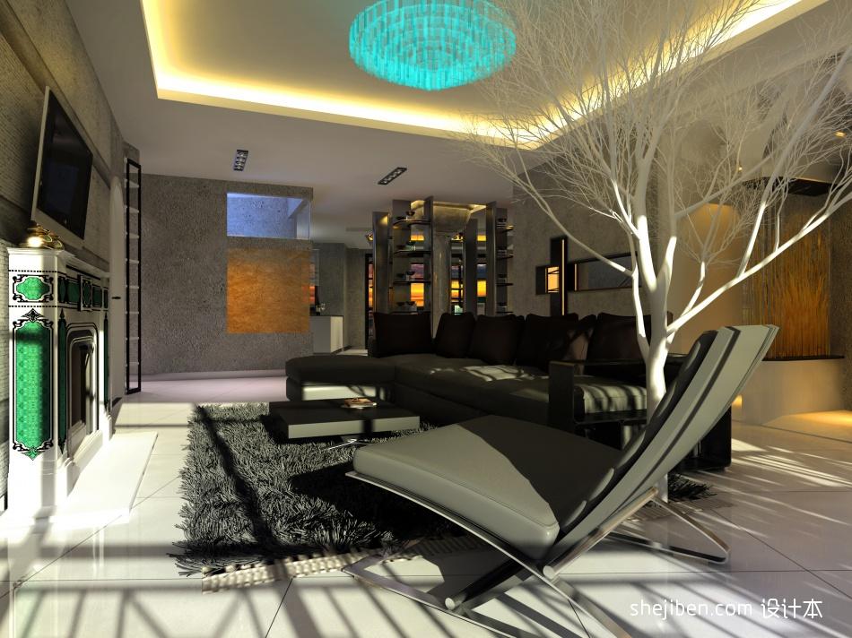 热门120平米混搭复式客厅装修图片客厅潮流混搭客厅设计图片赏析