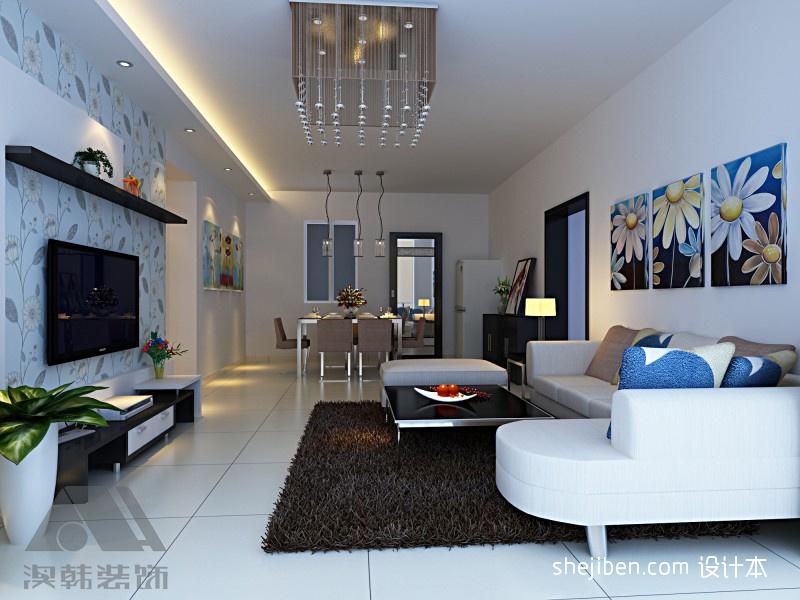热门94平大小三居混搭装修图客厅潮流混搭客厅设计图片赏析