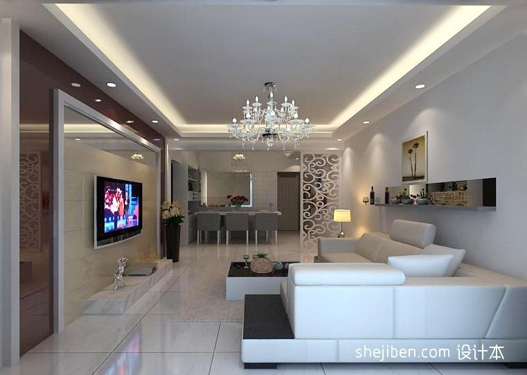 质朴98平混搭四居客厅实拍图客厅潮流混搭客厅设计图片赏析