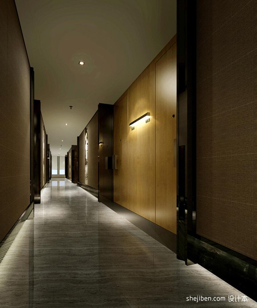 走道酒店空间设计图片赏析