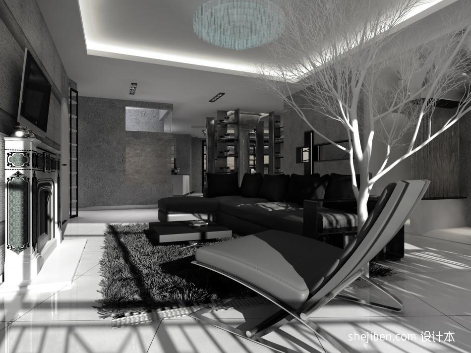 精选117平米混搭复式客厅欣赏图片客厅潮流混搭客厅设计图片赏析