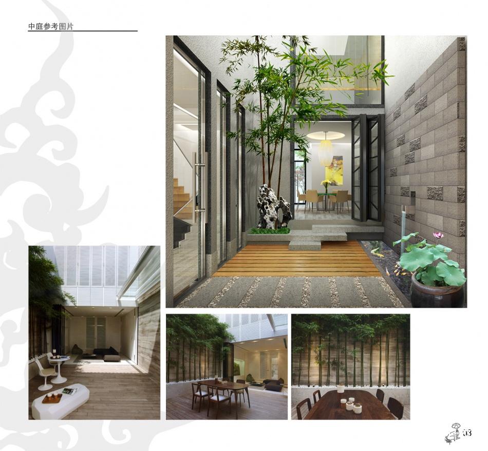 大气52平混搭复式花园装修设计图功能区潮流混搭功能区设计图片赏析