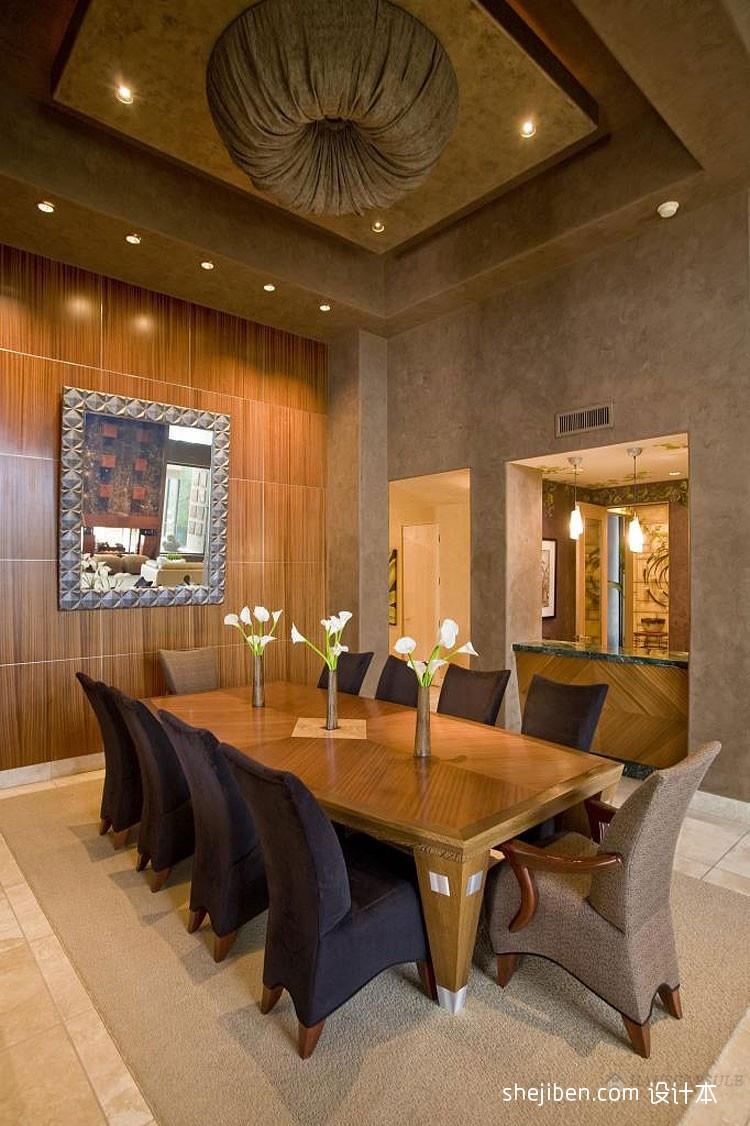 2018精选面积128平别墅餐厅混搭实景图片大全厨房潮流混搭餐厅设计图片赏析