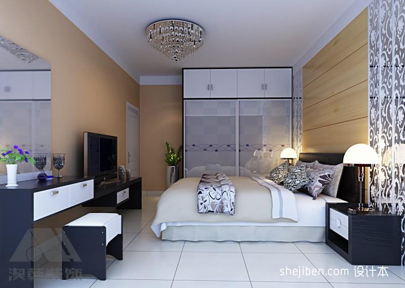 华丽108平混搭三居卧室装潢图卧室潮流混搭卧室设计图片赏析