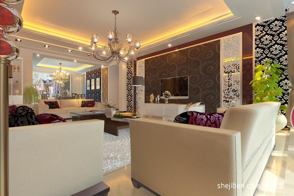 平米3室混搭装修实景图片欣赏客厅潮流混搭客厅设计图片赏析