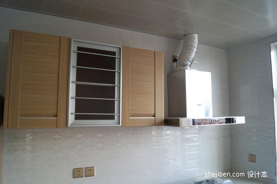 精美104平米三居厨房混搭装修设计效果图片餐厅潮流混搭厨房设计图片赏析