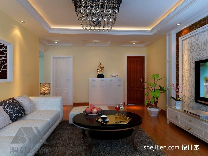 质朴105平混搭三居客厅设计图客厅潮流混搭客厅设计图片赏析